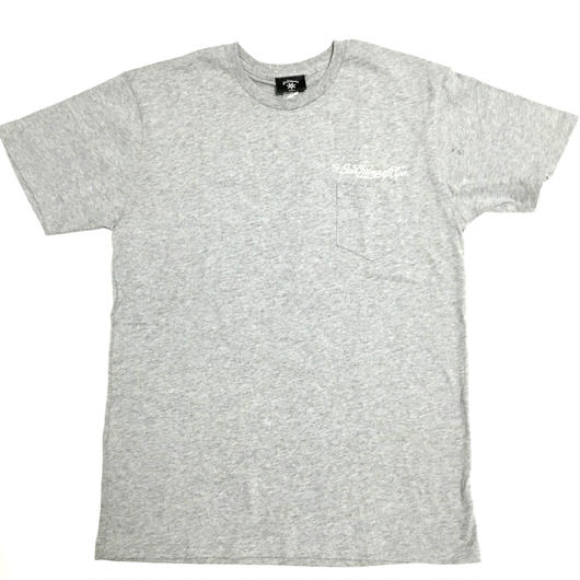 BudHuman&Co. Pocket tee (GRAY)