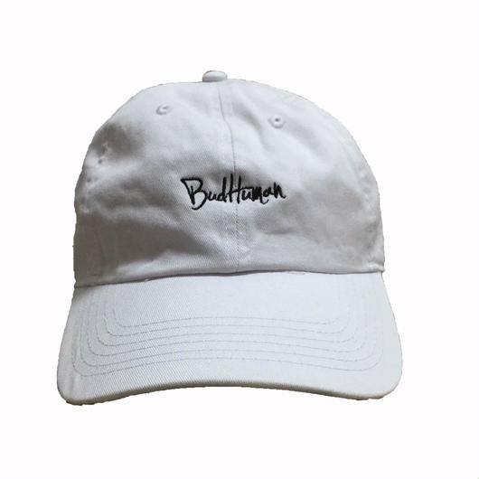 "Classic cap ""BudHuman"" (WHT)"