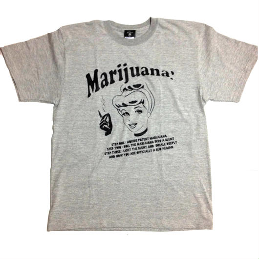 """Bud Princess""tee (GRAY)"