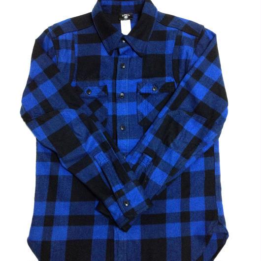 BLOCK CHECK SHIRTS(BLUE)