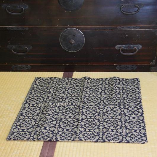 山羊紋 先染織 木綿風呂敷