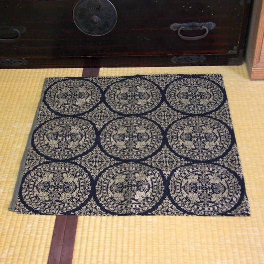 狩猟紋 先染織 木綿風呂敷