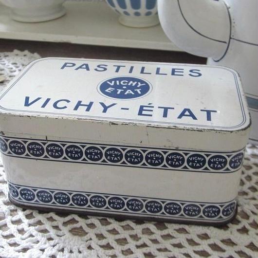 VICHY-ÉTAT ティン缶