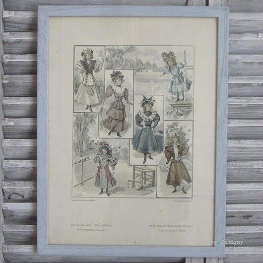 1920年代の女の子のファッションのグラビュール