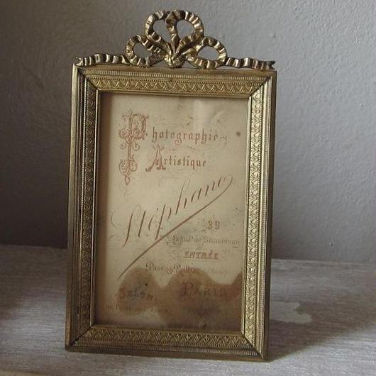19世紀末のフォトフレーム