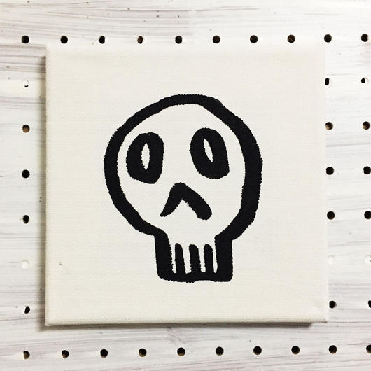 【一点モノハンドメイドART】Calavera Happy Guys, Happy of Wall Surface, No.002