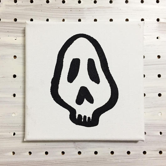 【一点モノハンドメイドART】Calavera Happy Guys, Happy of Wall Surface, No.001