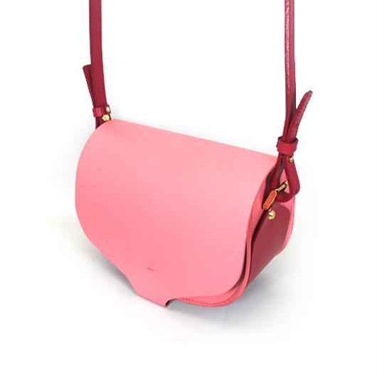 CHASSE BAG / PINK & RED