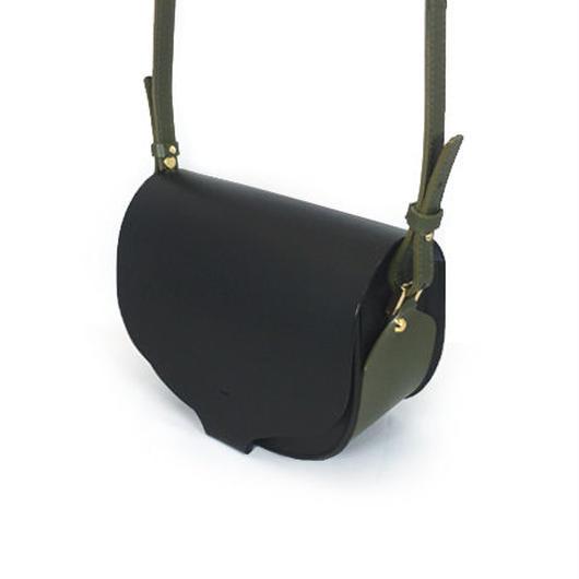 CHASSE BAG / BLACK & KAHKI