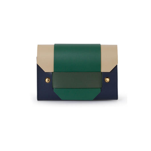 PUZZLE CARD HOLDER / NAVY