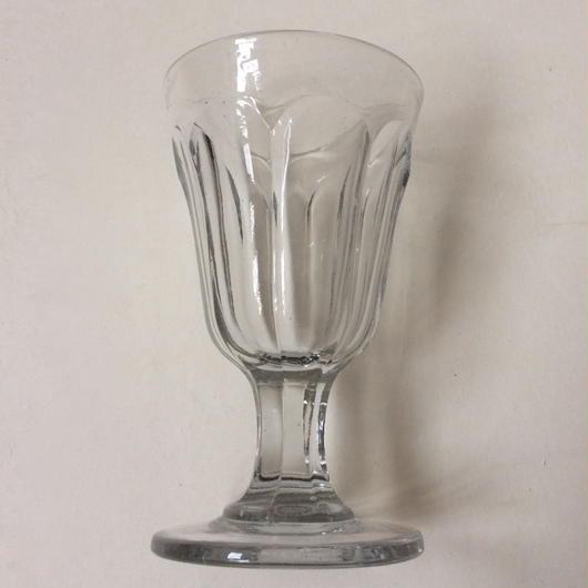 19世紀 ビストロ用 吹きガラス製 ワイングラス 1