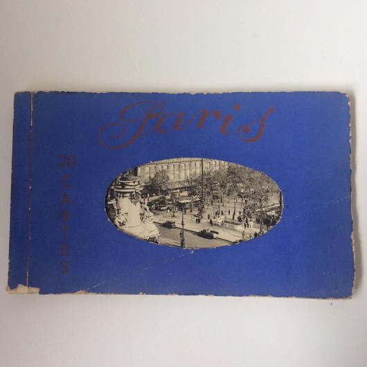 1920年代 パリ ポストカード セット エッフェル塔 1