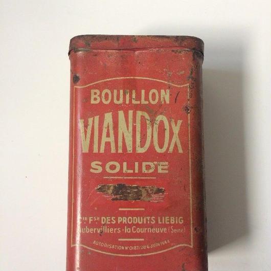 1940年代 ヴィアンドックス 缶 ティン缶 3