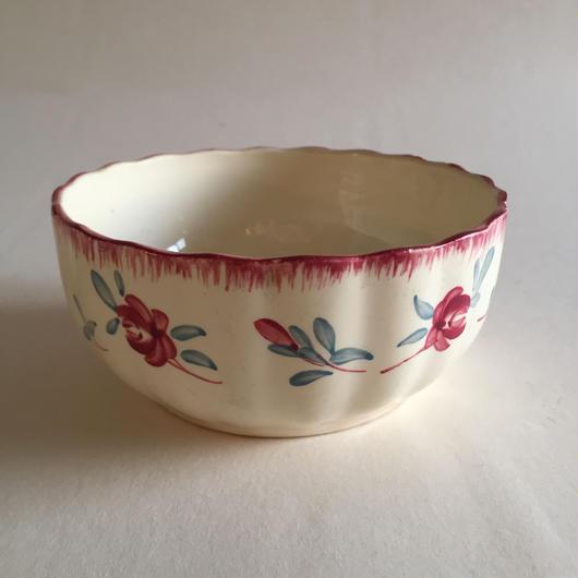 1920年代 サルグミンヌ  ボウル  小鉢  ダニュブ 小ばら柄