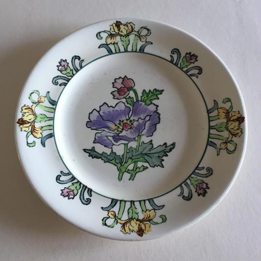 19世紀   ロングヴィ ディナー・プレート 平皿 モンテ・カルロ