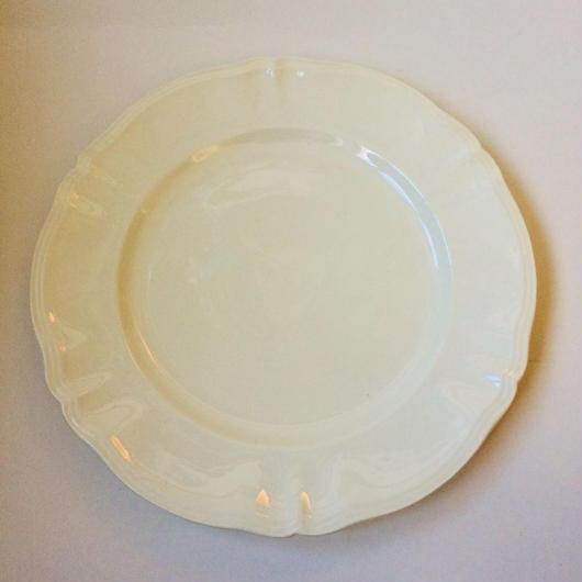 1920年代 サルグミンヌ プレート 大皿 花リム