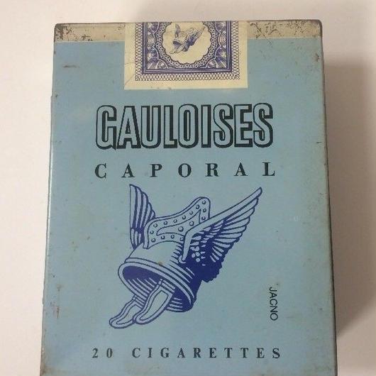 1960年代 ゴロワーズ パッケージ 缶 ティンケース