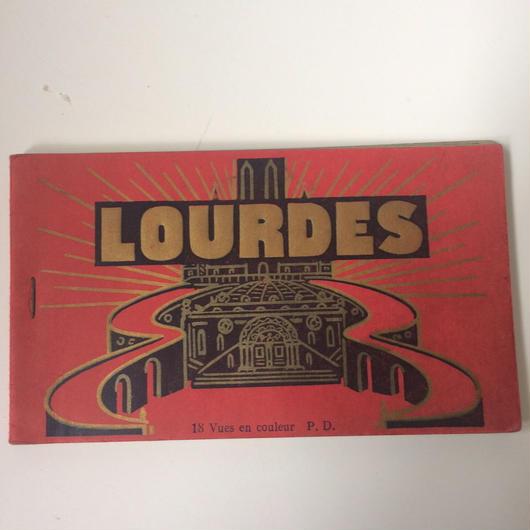 1920年代 ルルド ポストカード セット フランス