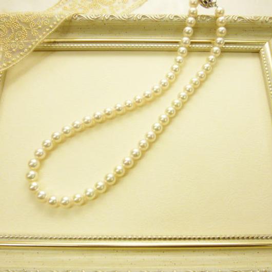 あこや本真珠 8ミリ玉ネックレス