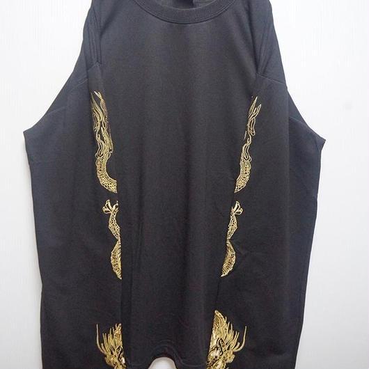 金龍刺繍スウェット