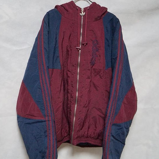 adidas   oversize   nylon  quilting jacket