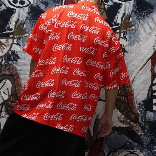 コーラ総柄シャツ