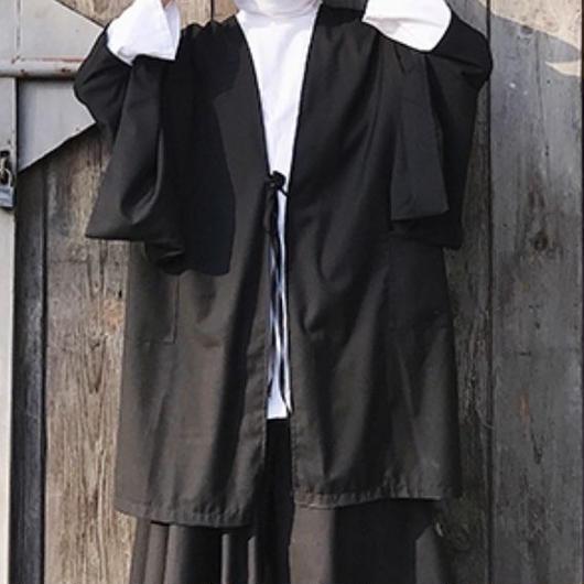 ビッグシルエット羽織ロングカーディガン