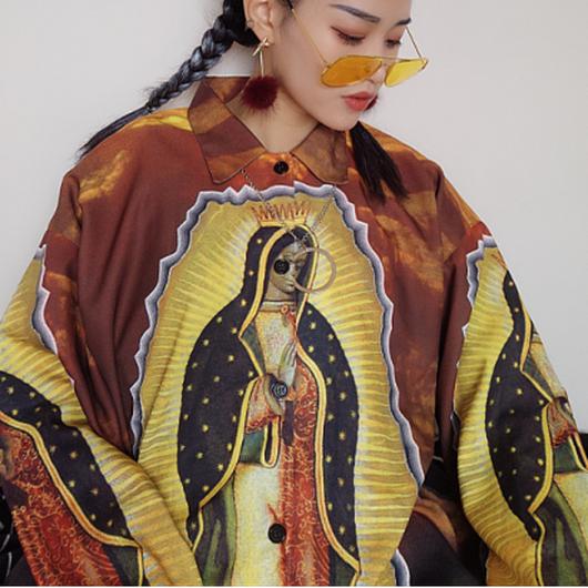 宗教画シャツ(長袖)
