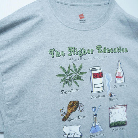The Higher Education tee