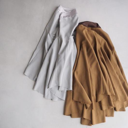 トロピカル ボリュームフレアスカート