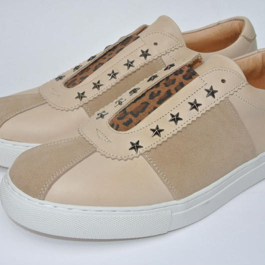 Star Studs Slip On BEIGE