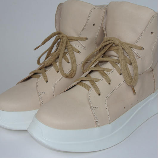 Platform High Top BEIGE