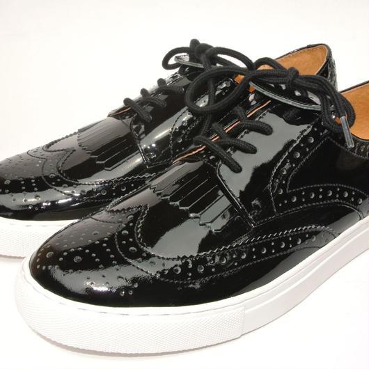 Wing Tip Sneaker BLACK/E