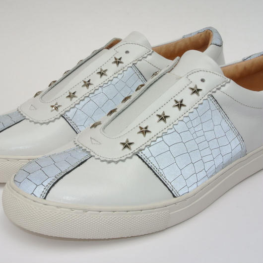 Star Studs Slip on Ref WHITE