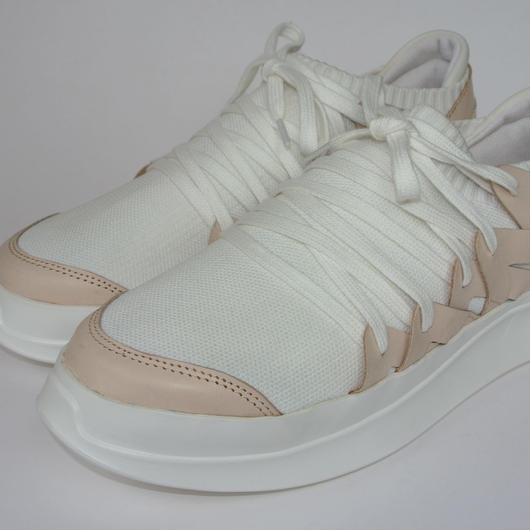 Platform Knitted WHITE