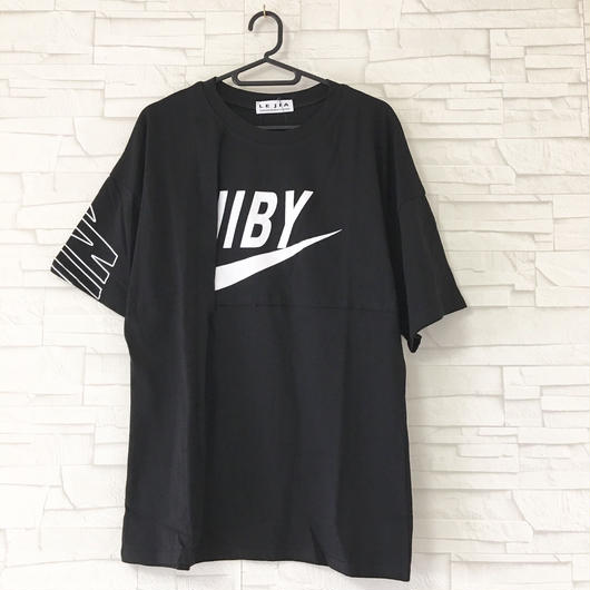 LOGO切り替えT-shirt