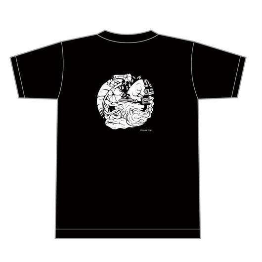 チャランケ祭2016オフィシャルTシャツブラック