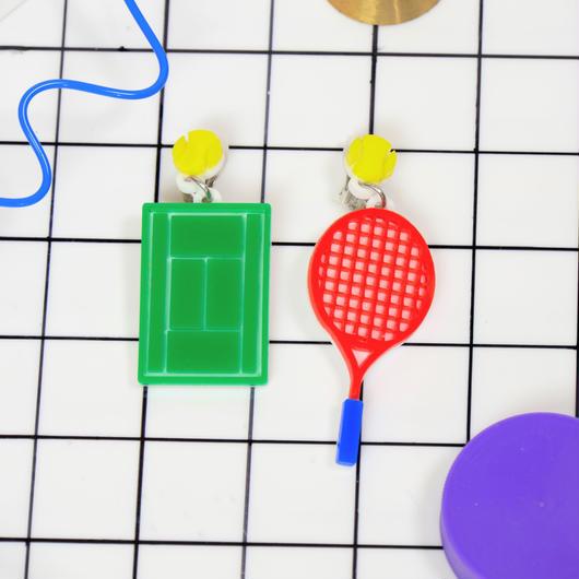 テニスsetピアス/イヤリング