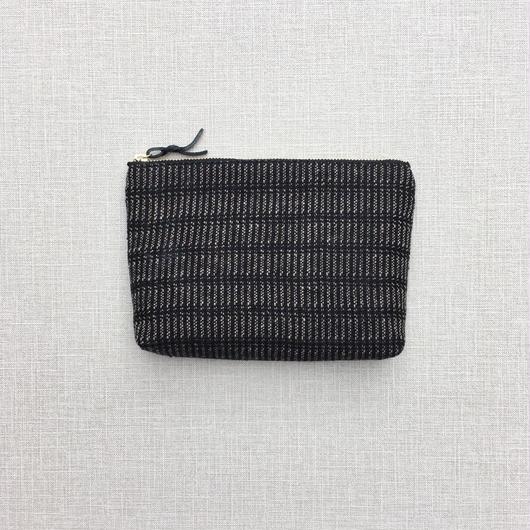 手織りのメイクポーチ ( Make up bag   Alinea)