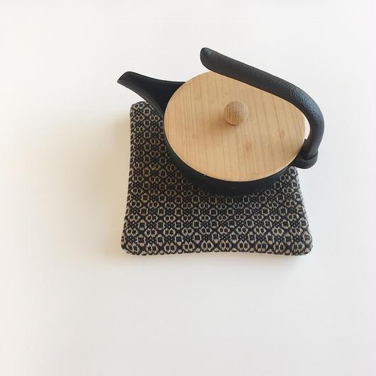 【 SALE 】手織りポットマット ( Potmat  Flower )