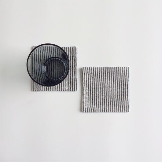 手織りコースター (Coaster Pinstripe&Monotone)