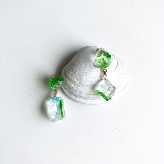 琉球ガラス yurari/ピアス/イヤリング