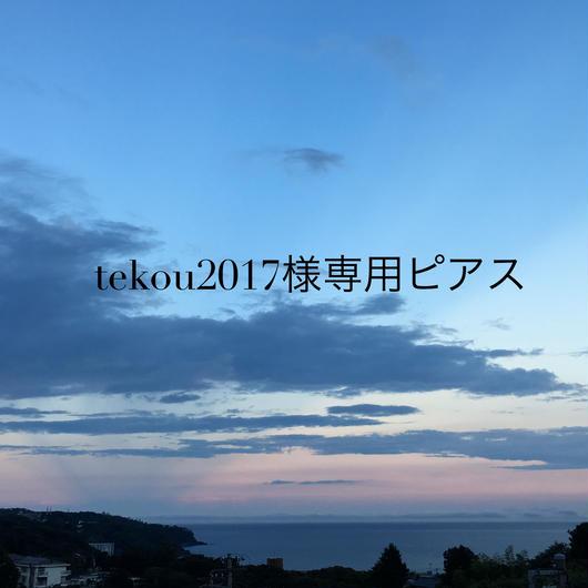 tekou2017様専用ピアス