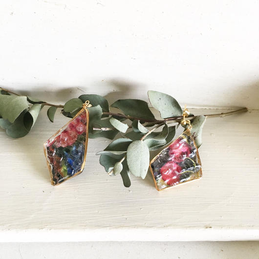 stained glass&fabricribbon