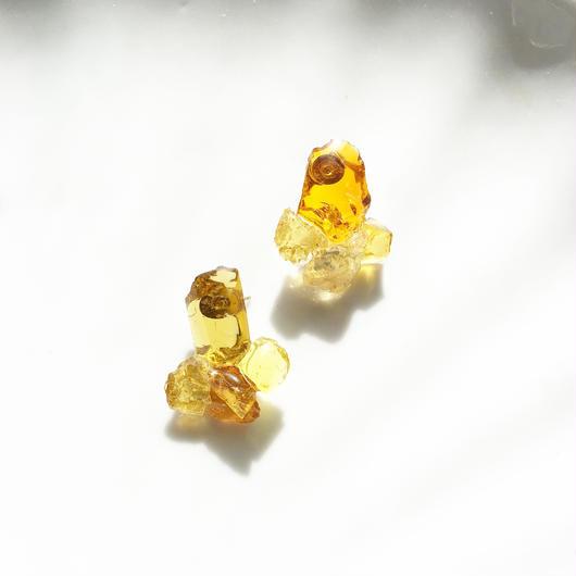 琉球ガラスpierce