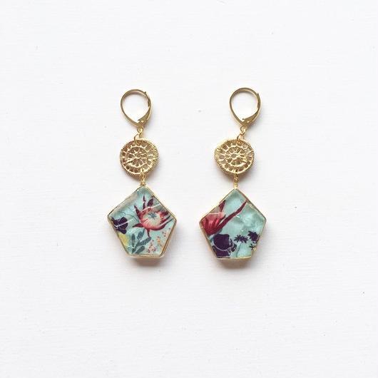 stained glass yurari/pierce/earring