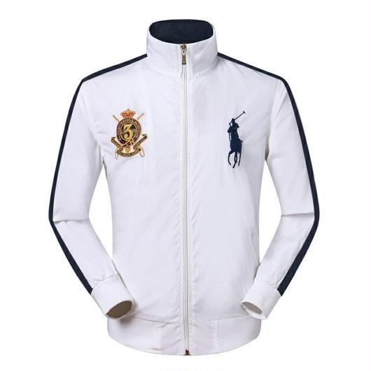 人気美品 高品質 ポロジャケット 刺繍 ブルゾン メンズ ラルフローレン ブルゾン 男女兼用