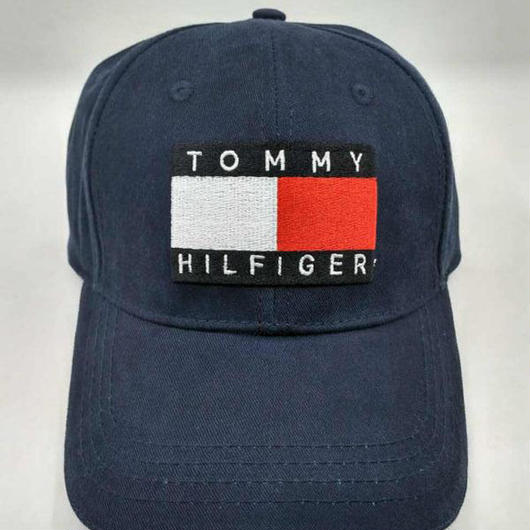 大人気 トミーヒルフィガー 刺繍キャップ 男女兼用 黒紺あり