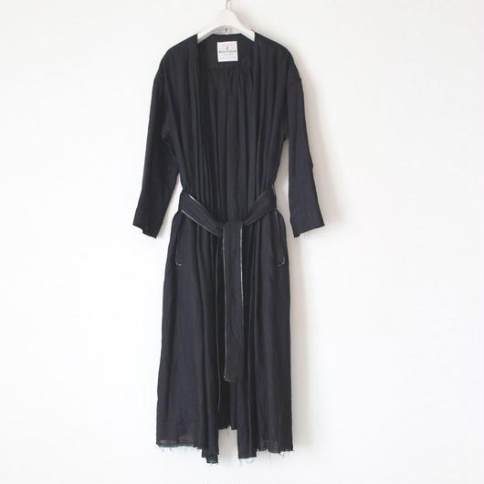 BOUTIQUE  linen coat TO-3200/BLACK