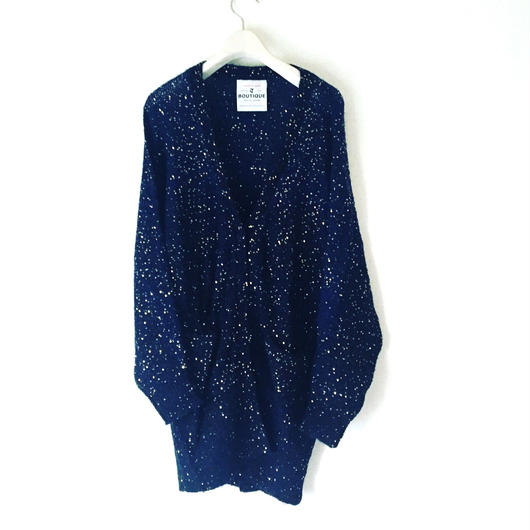 BOUTIQUE  spangle knit cardigan TK-2101